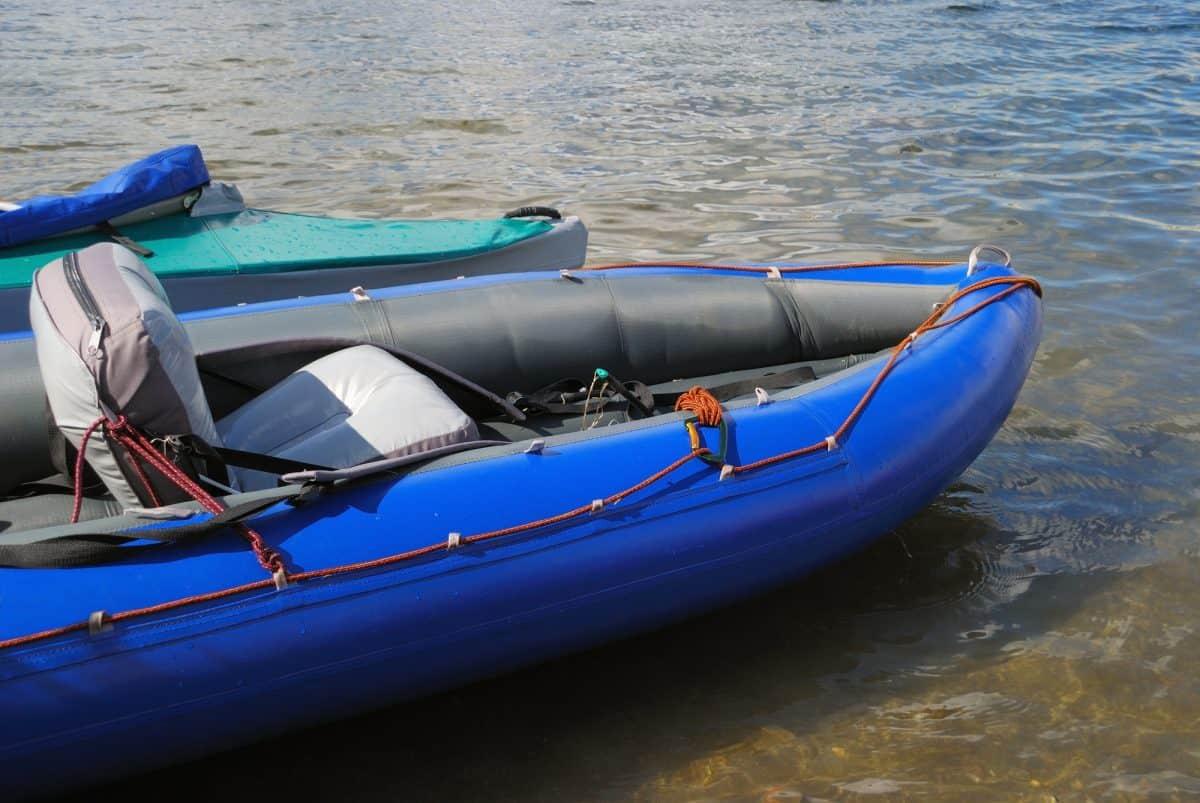 Kayak with comfortable seat