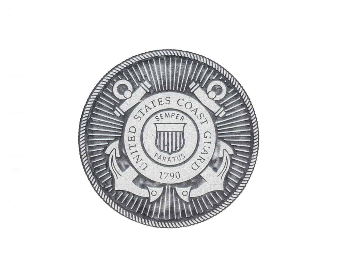 Life vest U.S. Coast Guard Approval badge