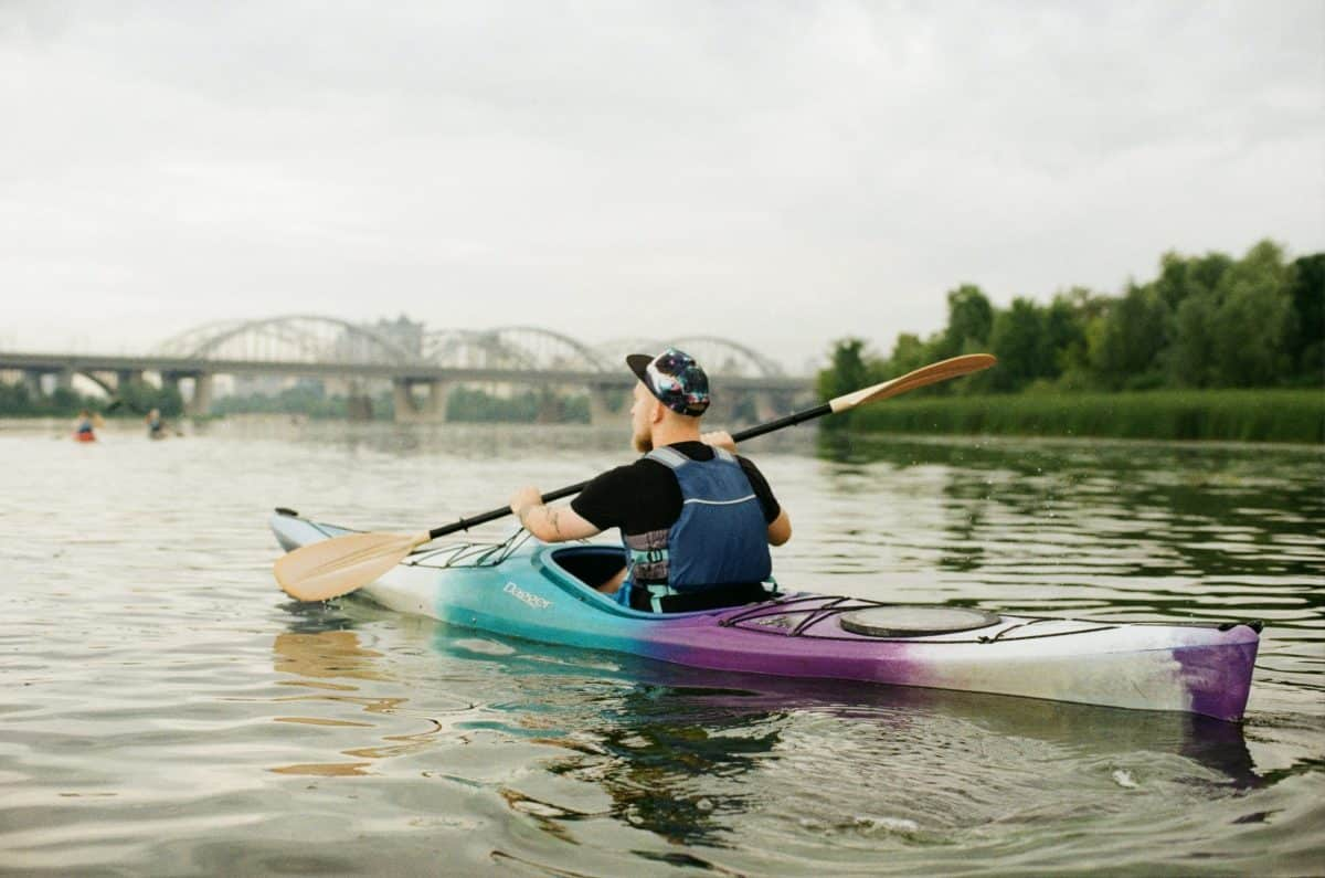 SIt In Kayak with solo piece seat