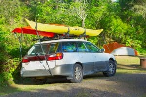 How To Strap Two Kayaks To A Roof Rack (It's Easier Than It Seems)