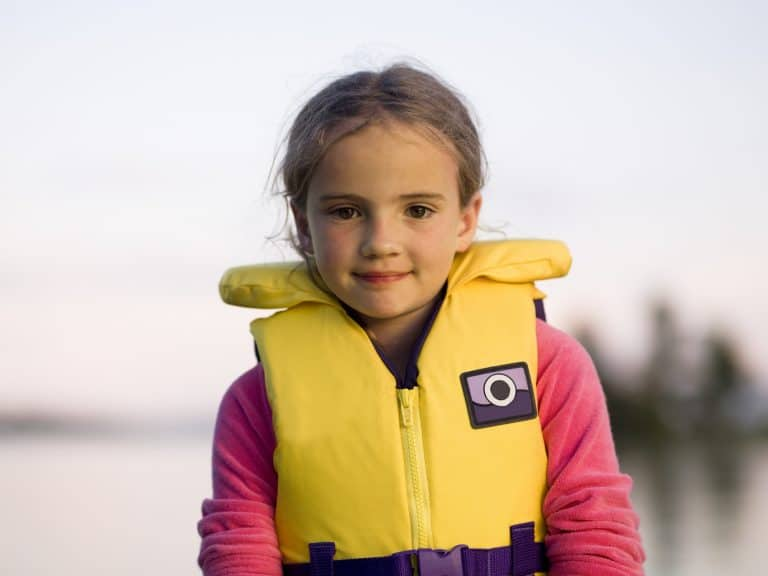 Kayak for Kids - Girl in Yellow PFD