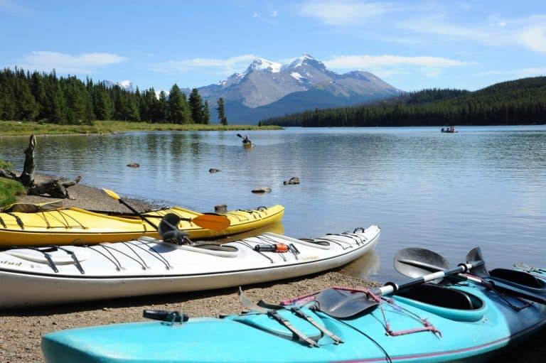 lakes rivers kayaking