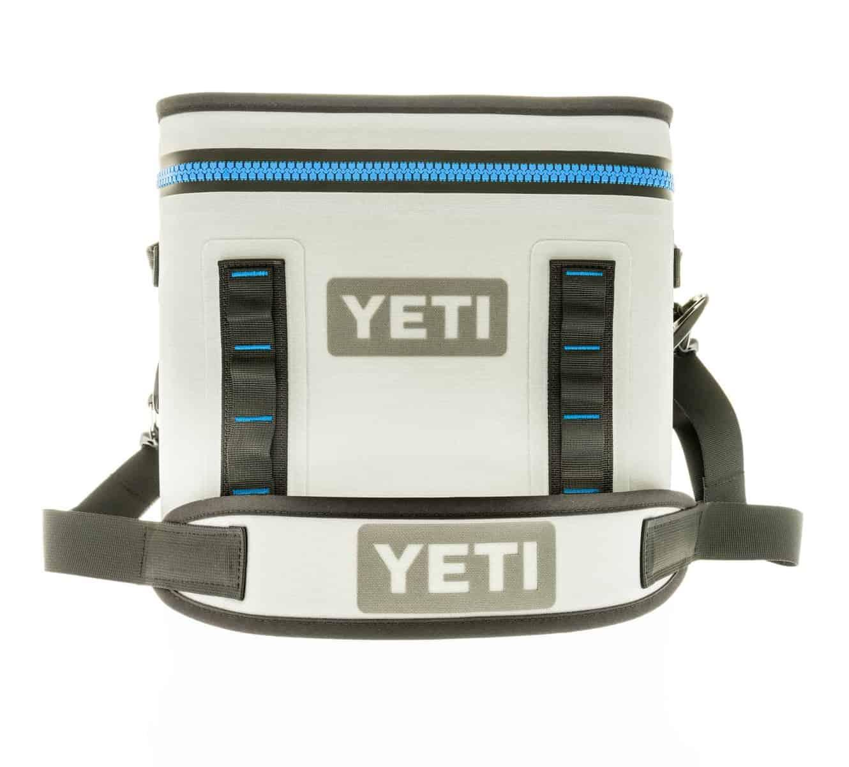 Yeti Hopper Cooler in light grey