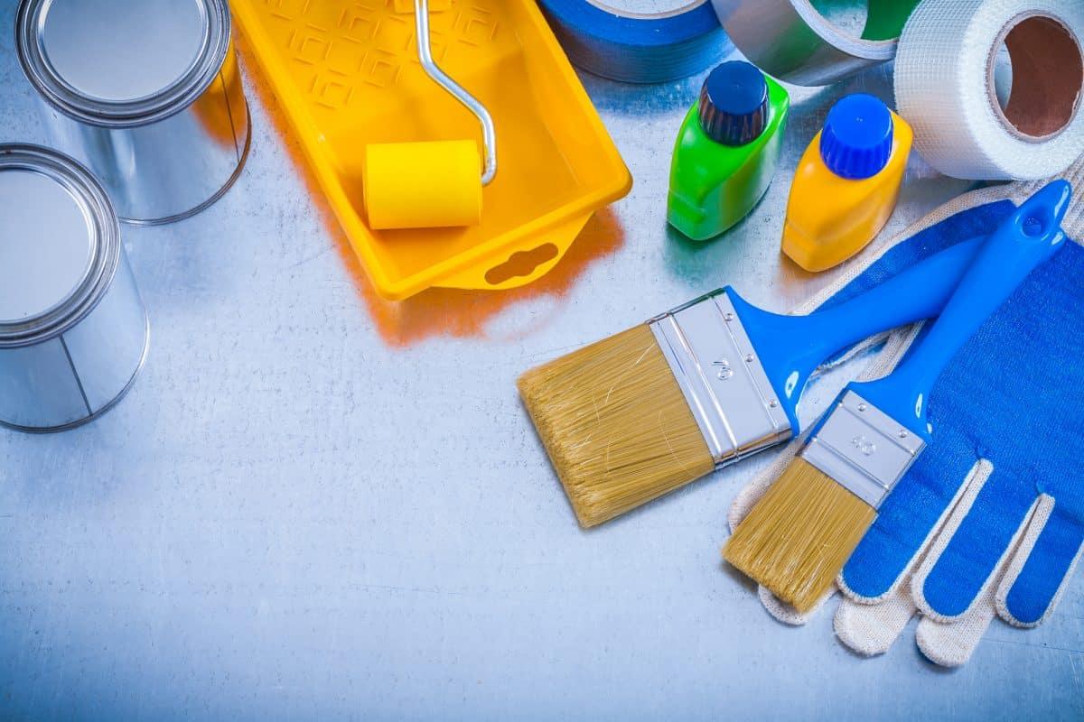 kayak paint equipment and supplies