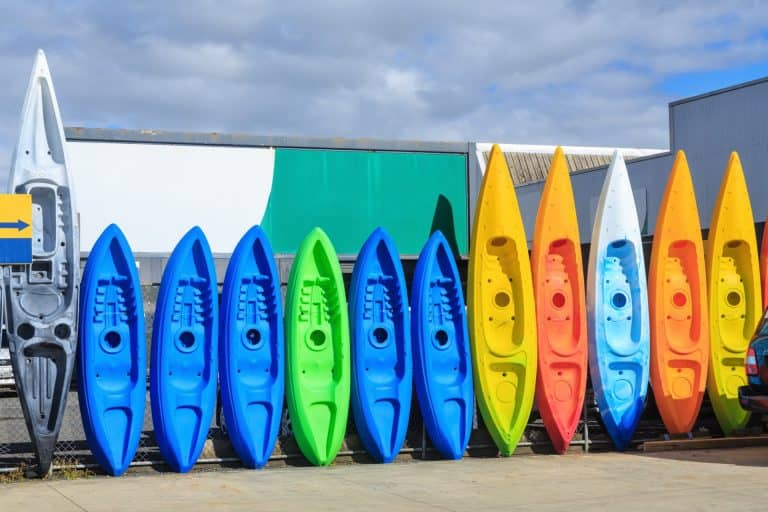 different types of material that kayaks are made fromkayaks