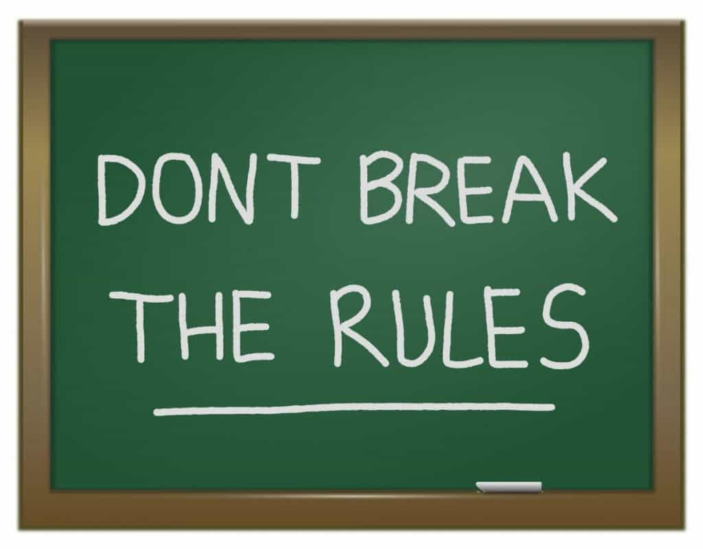 Recreational Fishing And The Law: - don't break the rules graphic