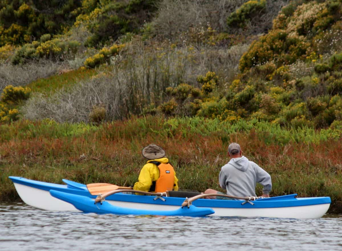 kayak outriggers and stability